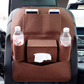 Auto Seat Back Storage Bag Drink Phone organizer Nets Car Styling Covers Durable Automobiles Interior Bulk Accessories Supplies