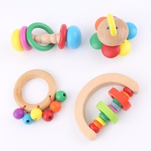Baby Rattles Hand Bells Plush Baby Toy Educational Mobiles Toys Chewab