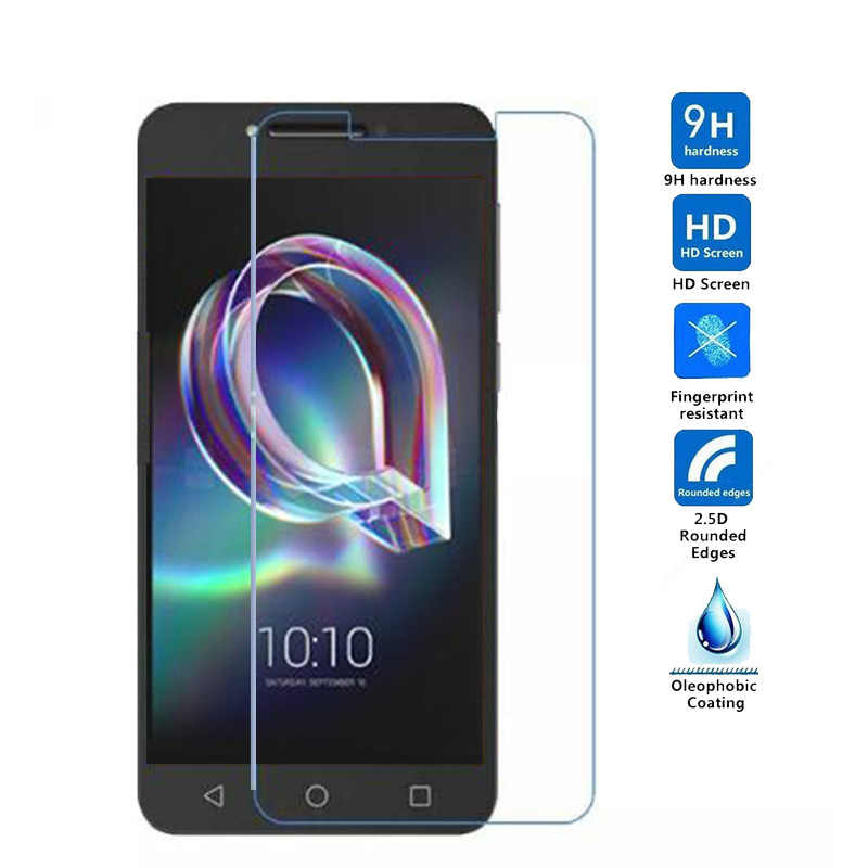 2PCS   Premium Tempered Glass For Alcatel A7 XL A7XL Screen Protector Film For Alcatel A5 LED 5085D U3 U5 5044D 5044Y
