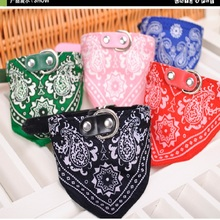 2017 Dog Triangular For Small Puppy Pet Products Saliva Towel Cat Puppies Collars Scarf Neckerchief Necklace Cachorro Supplies