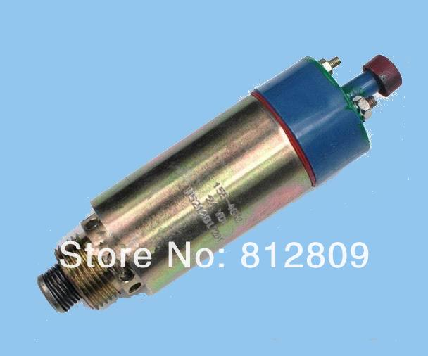 24V 125-5772 Fuel Stop Solenoid Valve 155-4652 8C-3663 Shutdown Shutoff Solenoid 3924450 2001es 12 fuel shutdown solenoid valve for cummins hitachi