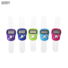 цена на Mini Stitch Marker And Row Finger Counter LCD Electronic Digital Tally Counter For Sewing Knitting Weave Tool Finger Counter