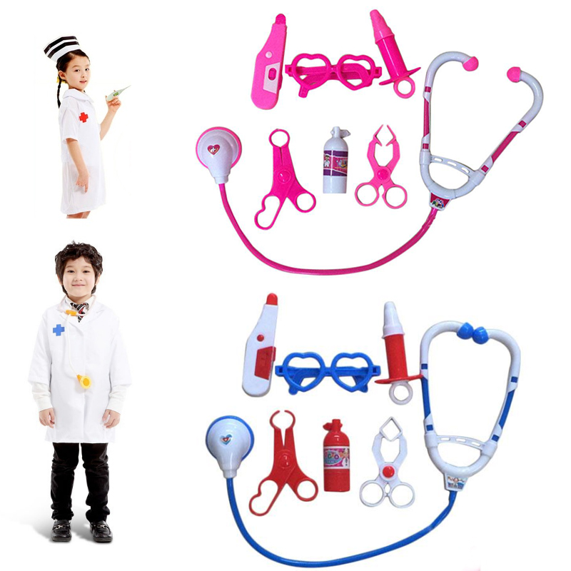 Kit Pretend Play Doctor Toys For Kids Role Play Classic Toys Simulation Hospital Pretend Play Doctor Play Set Toys for Children
