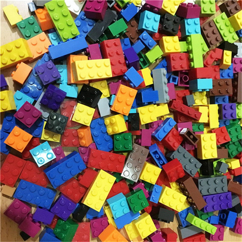 1000 Pieces Building Blocks DIY Legoings City Creative Bricks Toy Model Educational Bulk Toys for Children Birthday Gift купить в Москве 2019