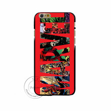 Marvel Deadpool Captain America iron Man Hard Plastic Shell for iPhone X 8 7 6 Plus 5 4