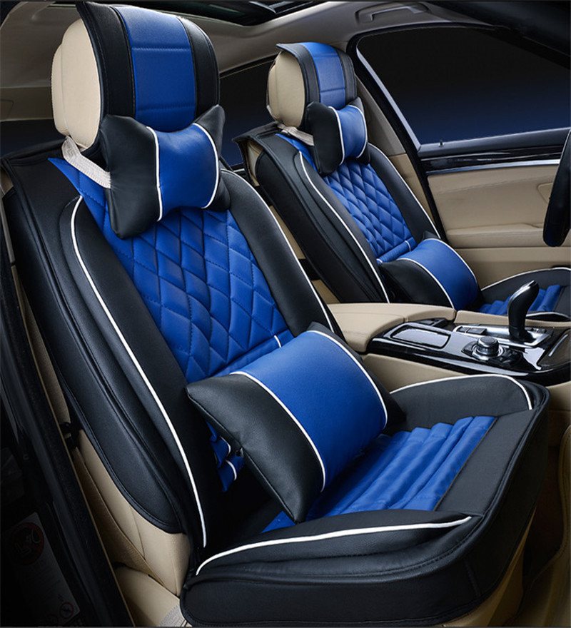 buy gift high quality danny leather car seat cover universal bamboo charcoal. Black Bedroom Furniture Sets. Home Design Ideas
