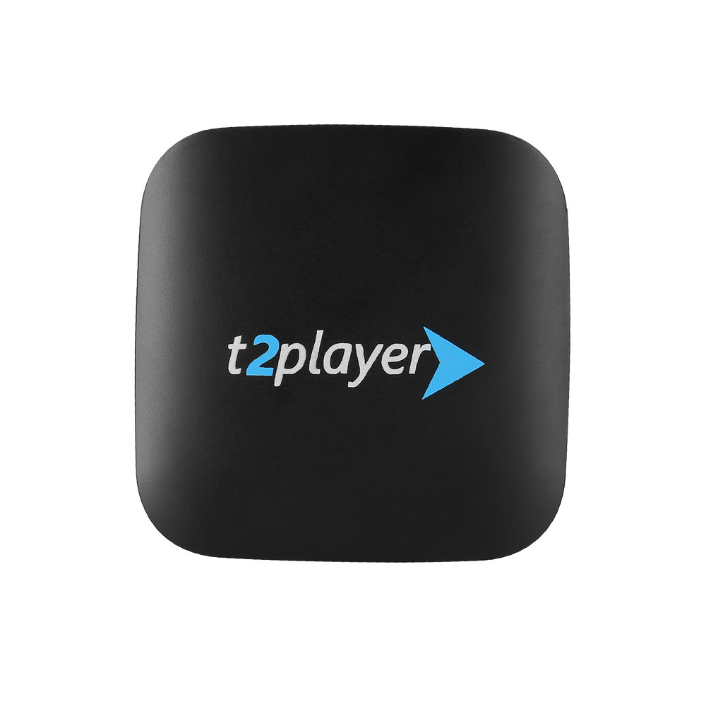 T2player Stable professionnel IPTV boîte de Streaming lisse PK Mag Tvip boîte