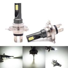 Pair H4 9003 HB2 LED Fog Light Bulbs 3030 12SMD High Power 12V 24V Auto Truck Driving Running Bulbs Running 6000K