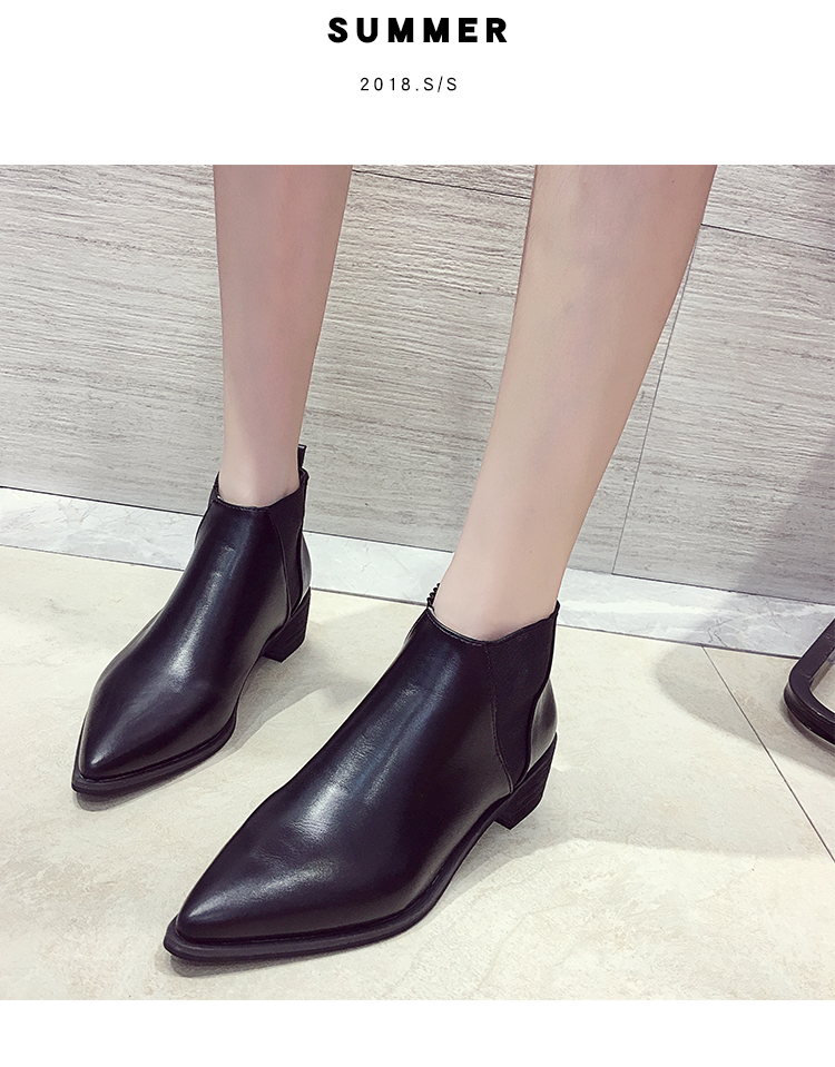 2b2678385960 2018 Best selling European women s spring shoes fashion patent ...