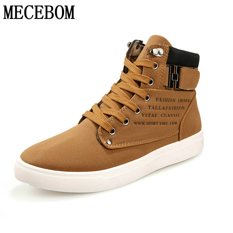 Hot Sale Men Shoes Sapatos Tenis Masculino Male Fashion Autumn Winter Boots For Man Casual High Top Canvas Casual Shoes