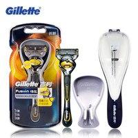 Genuine Gillette Fusion ProShield Razor Blades FlexBall Brand Shaving Machine Washable Shaver Cartridges Refills Face Care
