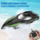 SYMA Q3 RC Boat Waterproof Speedboat High Speed Remote Control Boats RC Ship Simulation Speed Craft Toy for Boys Kids Gift