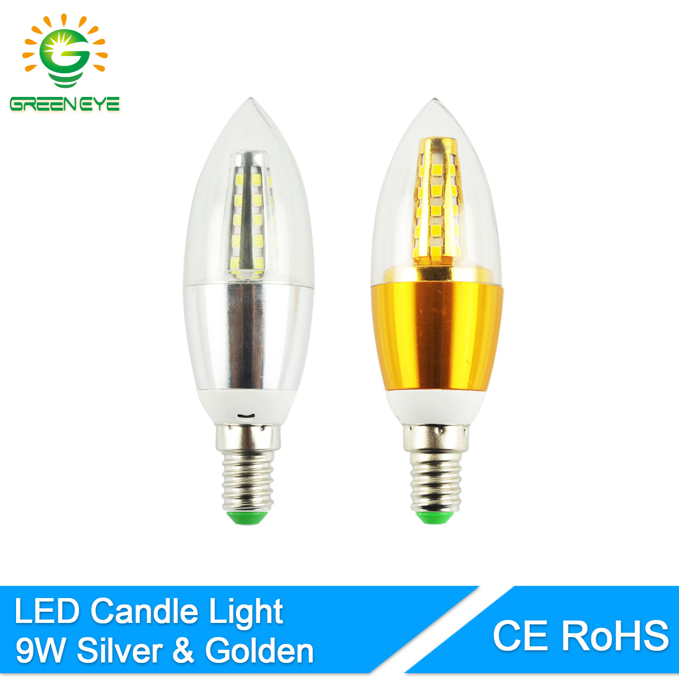 Back To Search Resultslights & Lighting Greeneye Aluminum Shell Led Candle Bulb E14 9w Light Led Lamp 220v Golden Silver Cool Warm White Ampoule Velas Lampara Lampadina Aromatic Character And Agreeable Taste Led Bulbs & Tubes