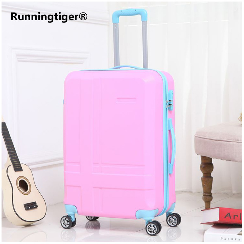 Rolling Luggage Spinner Wheels 24 inch Suitcase Trolley Men ABS+PC Travel bag Trunk Student Password box Women Carry On LuggageRolling Luggage Spinner Wheels 24 inch Suitcase Trolley Men ABS+PC Travel bag Trunk Student Password box Women Carry On Luggage