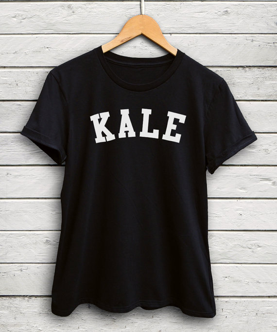 KALE Letter Print Funny T-Shirt Women Summer Style Outfits tshirt Fashion Clothing tumblr tees Graphic Unisex tops Streetwear