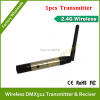 2 4G Wireless Transfer DMX512 1PCS Transmitter