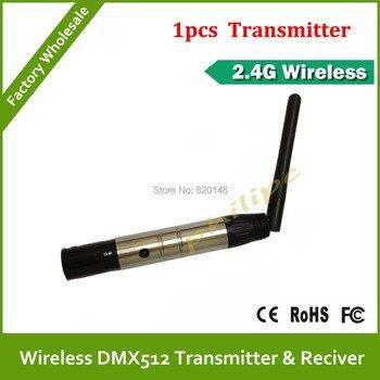 2. 4G Беспроводная передача DMX512 1 шт передатчик