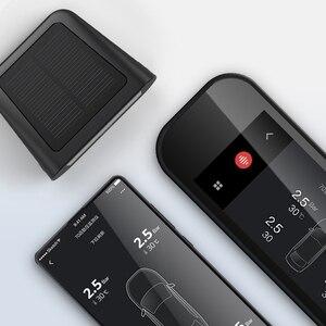 Image 5 - 70mai TPMS צמיג לחץ צג Bluetooth רכב צמיג לחץ שמש USB הכפול תשלום LED תצוגה חכם מעורר מערכת App בקרה