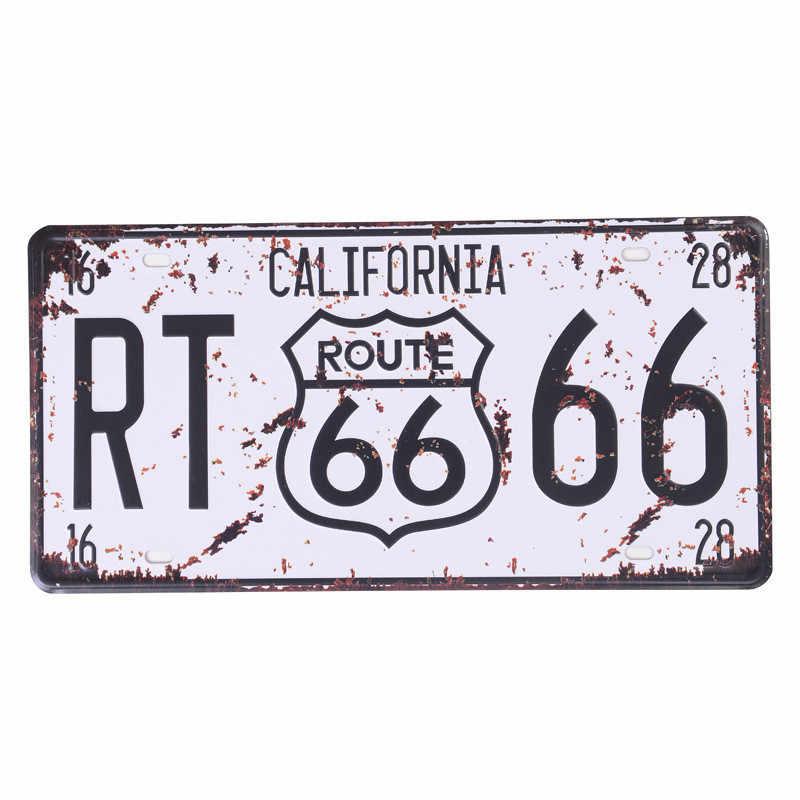 Elvis Presley USA винтажные металлические жестяные знаки Route 66 автомобильный номер кинозвезда винтажная гаражная Доска постер Клубная стена 30*15 см C4