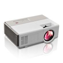 Mini LED Proyector wifi USB HDMI VGA puerto Ideal home proyector inteligente proyector de vídeo portátil proyector beamer