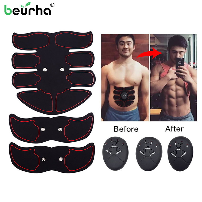 Foot Care Tool Motivated New Smart Abdominal Muscle Trainer Sticker Electric Pulse Treatment Stickers Gym Abs Muscle Stimulator Pad Fitness Arm Sticker