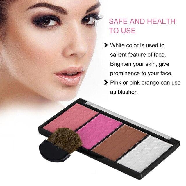 Xixi Face Makeup Brighten Highlighter Powder Palette Set Four Colors