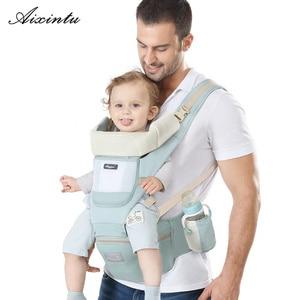 Image 1 - Эргономичный рюкзак кенгуру для новорожденных, Хипсит, слинг спереди, для путешествий, для детей от 0 до 36 месяцев