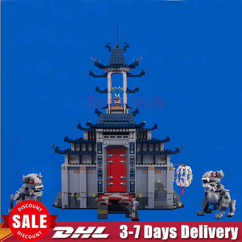 In Stock DHL Lepin 06058 1501pcs Movie Temple of The Ultimate Weapon Building Blocks Bricks DIY Baby Toys Children Gift 70617 dhl in stock lepin 16013 the lord of the rings 1368pcs series the battle of helm deep model building blocks bricks toys