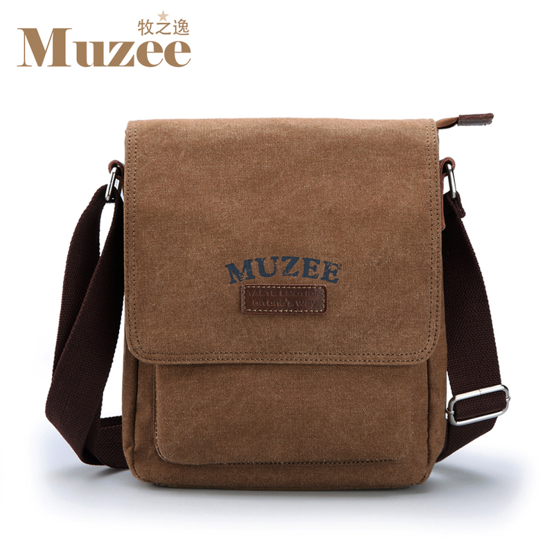 ФОТО new collection 2017 canvas bag , men's messenger bag , designer bags for male, high quality brand design man's mini casual bags