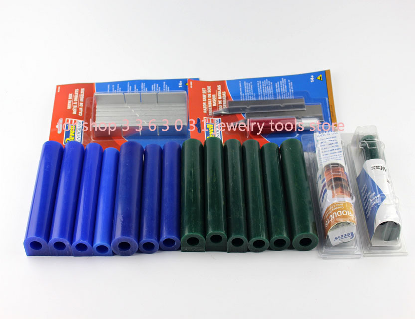 Free Shipping Ferris Wax Tube Solid Hallow Wax Tube Carving For Jewelry Mould Revell Monogram