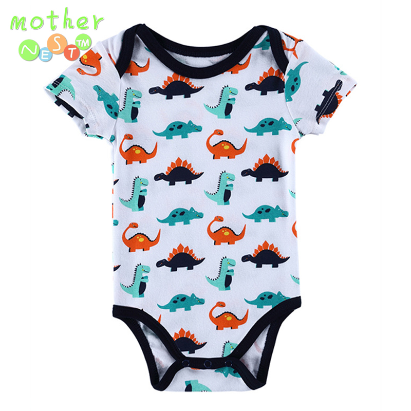 Near Cutest 1pcs/lot 2018 Baby Boys Girls Clothes Infant Clothes Animal 100% Cotton Newborn Baby Rompers Baby Clothing Set
