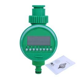 Automático electrónico pantalla LCD casa válvula de bola del agua temporizador jardín riego temporizador de sistema de controlador irrigador