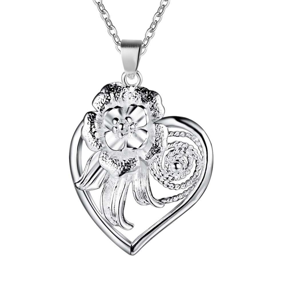 b94646947ccd ₪Plateado plata al por mayor encanto jewelrys Collar