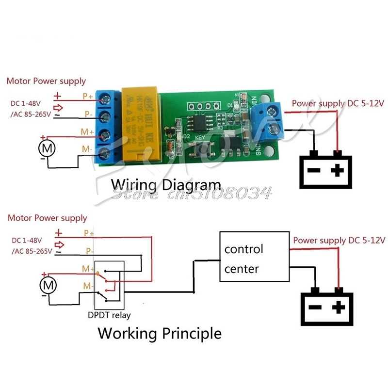 Detail Feedback Questions about DC 5V~12V Motor Reverse Polarity