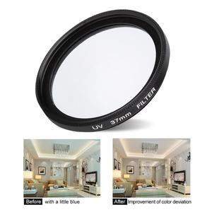 Image 3 - Bộ Lọc Ống Kính 37Mm CPL + UV Cho YI 4K Máy Camera Thể Thao Ống Kính Nắp Bảo Vệ Adapter Ring