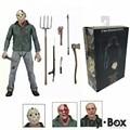 Freddy Vs Jason Friday The 13TH Part3 3D Dos Desenhos Animados Toy PVC Action Figure Modelo Boneca de Presente