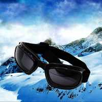Professional Folding Pocket Windproof Motorcycle Goggles Glasses Eyewear Outdoor Sports Camping Hiking Working Eye Safe Protect
