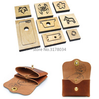 New Japan Steel Blade Rule Die Cut Steel Punch Card Holder Coin Bag Cutting Mold Wood Dies for Leather Cutter for Leather Crafts
