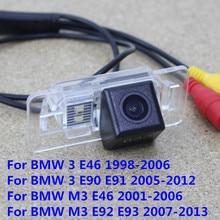 170 градусов Водонепроницаемый Ночное ВИДЕНИЕ CCD заднего вида обратный резервный Парковка Камера для BMW 3 E46 E90 E91/m3 e46 E92 E93/X1 X3 X5