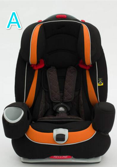 Lowest price soft comfortable car safe chair for 9 months 12 years baby to use