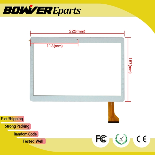 US $13 0 |A+ 9 6 10 1 inch mediatek kt096 Tablet PC touch screen digitizer  glass touch panel Sensor replacement -in Tablet LCDs & Panels from Computer