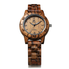 купить Brand Wooden Watches Luxury Dual Display Quartz Watch for Women's Luminous  Pointer Watch Free Shipping Sale по цене 1979.28 рублей
