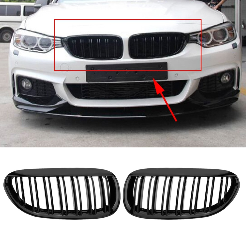 1Pair Front Bumper Grille Grill for BMW E63 E64 645Ci 650Ci 650i M6  Coupe/Convertible 2005 2006 2007 2008 2009 2010-in Racing Grills from  Automobiles ...