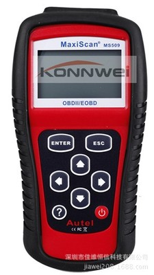 ФОТО Konnwei MS509 Autel MaxiScan OBDII / EOBD Auto Code Reader Fit For US&Asian & European Vehicles Maxiscan code scanner