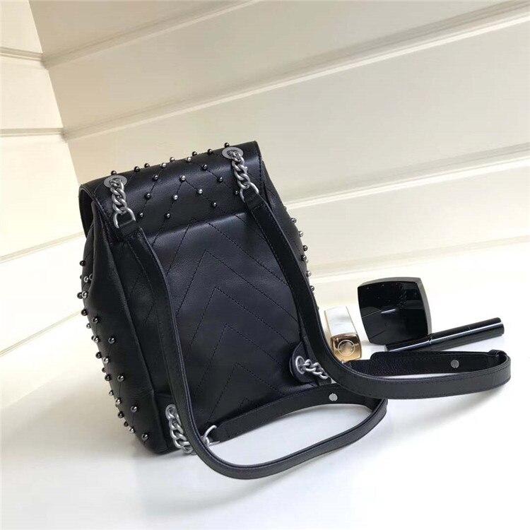 Mode La Célèbre De Designer À Simple Piste argent Noir Luxe Europe Sac Bagage Dos Marque Ww1147 Pliant Portable 45qCdwq