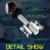 Oslamp cree chips 6500 k h7 kits de faros para automóviles de coches Faros Antiniebla H7 Led Headlight 50 W/Pair sin Ventilador Solo Haz Coche bombillas