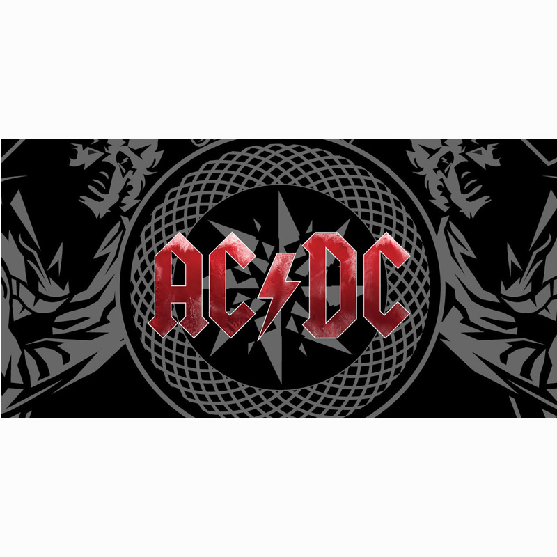 Aliexpress.com : Buy AC/DC pattern printing cool and big beach towel ...