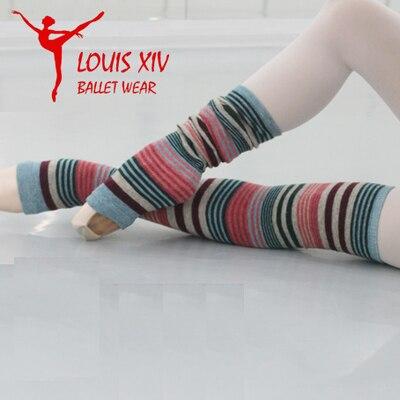 LOUIS XIV frauen Warm Elastic Stricken Ballett Stulpen auf