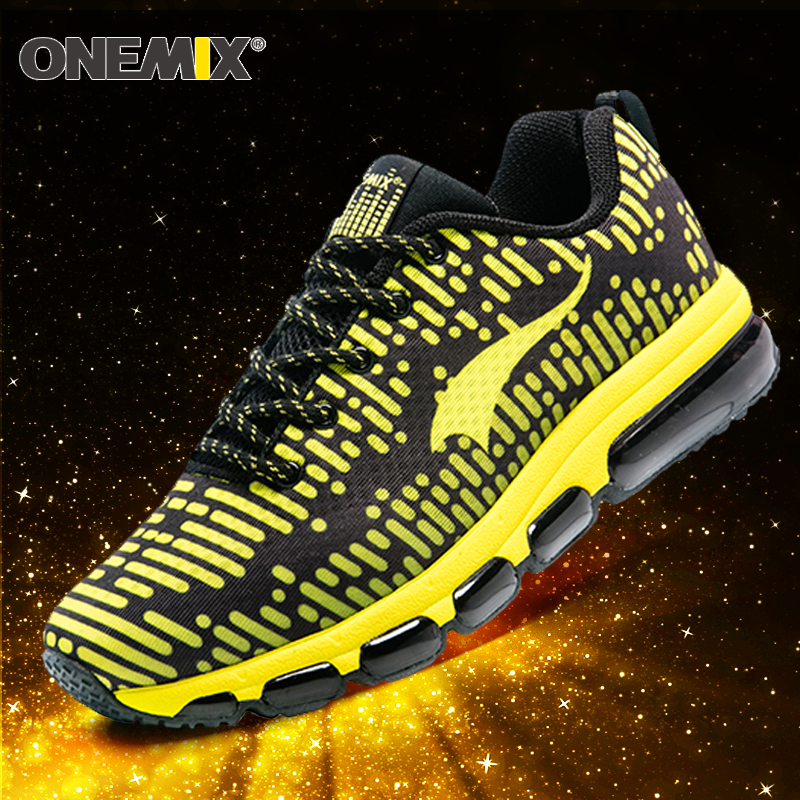 Onemix 2017 New Running Shoes men Outdoor Sport shoes air cushion sneaker shoes zapatos hombre trekking shoes for men size 35-46 2017 running shoes men sneakers for men sport zapatillas deportivas hombre free run sneaker mens runners china wear resistant