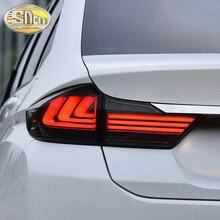 Car LED Tail Light Taillight For Honda City Grace 2015 - 2018 Rear Light + Brake Lamp + Reverse +Dynamic Turn Signal Car Styling цена в Москве и Питере
